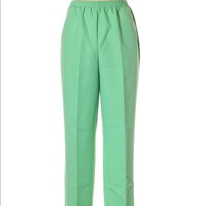 3/$40 Alfred Dunner Mint Green Dress Pants 8